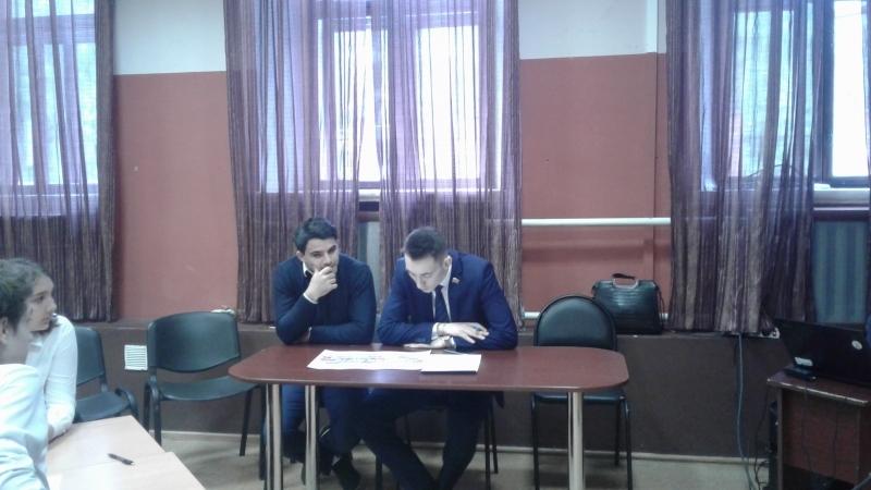 Представители Молодежного парламента