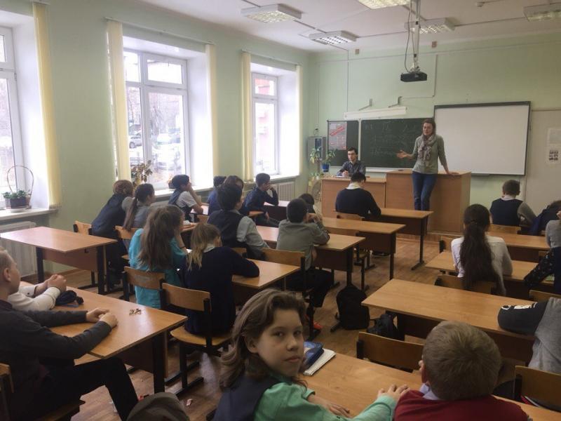 Юлия Балабанова в 7 классе