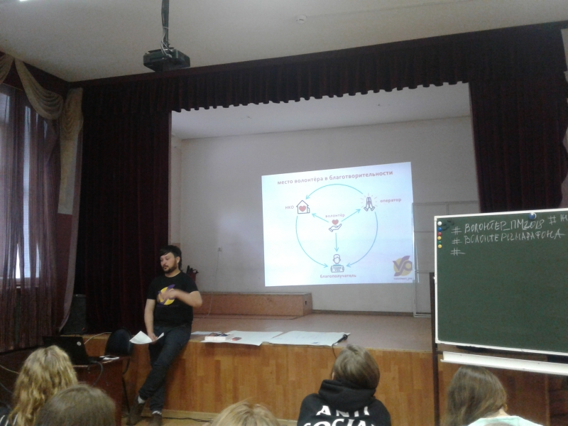Егор Демидов о волонтёрстве